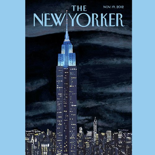 The New Yorker, November 19th 2012 (Ryan Lizza, David Denby, Roger Angell) cover art