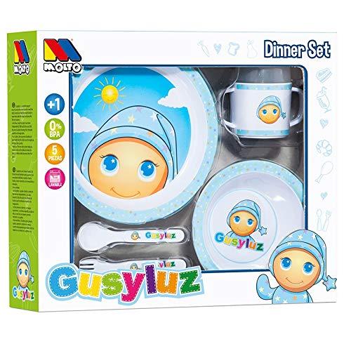 M MOLTO GusyLuz vajilla - Set 5 pcs GusyLuz
