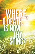 Where, O Death Easter Images Bulletin (Pkg of 50)