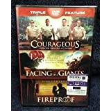 Courageous Facing the Giants Fireproof triple feature [並行輸入品]