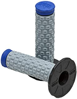 Pro Taper Pillow Top MX Grips - Black/Grey/Blue