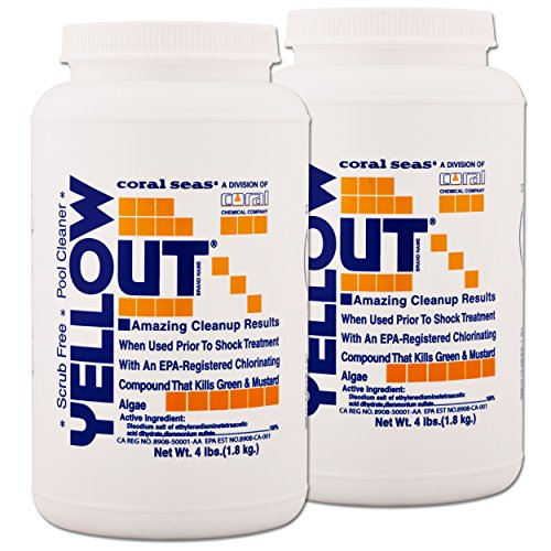 Yellow Out Swimming Pool Chlorine Shock Enhancing Treatment - 2 x 4 Pounds