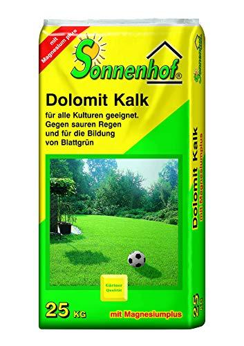 Sonnenhof® 25kg Dolomitkalk Dolomit Rasenkalk Gartenkalk Düngekalk Kalk Magnesiumkalk