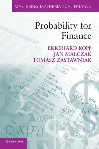 Probability for Finance (Mastering Mathematical Finance)