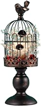 NFSWMHLE European Style Retro Birdcage Candle Holder Metal Lantern Candle Holder Chic Candle Holder Decoration Ornaments (...