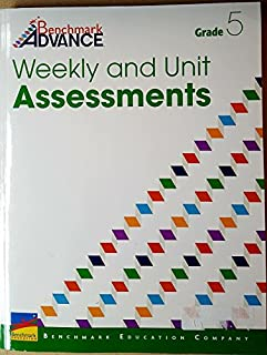 Benchmark Advance Weekly and Unit Assessments (Grade 5)