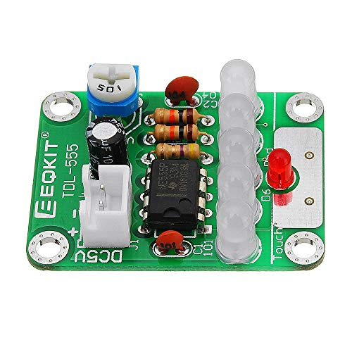 Sensor-Modul DIY-Kit DC 5V Touch Delay Light Elektronisches Touch LED Board Light for DIY Module Kit Set Kompatibel mit Arduino