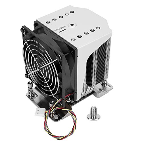 Disipación de Calor eficiente portátil Enfriador de CPU Ventilador de refrigeración Radiador Suministros de computadora SNK-P0064AP4 AMD EPYC 7000 Socket SP3
