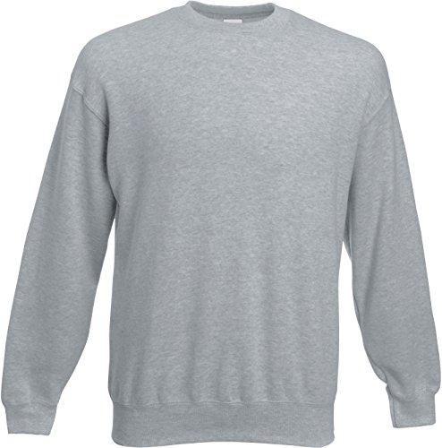 Set-In Sweatshirt M,Heather Grey