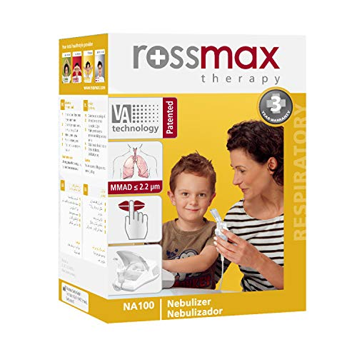 Rossmax NA100 Inhaliergerät Inhalator Aerosol Therapie Vernebler Inhalation Kompressor