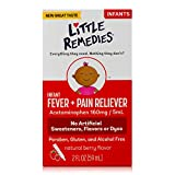 Little Remedies Infant Fever & Pain Reliever with Acetaminophen | Berry|  2 FL OZ