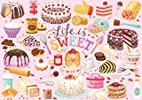 Buffalo Games - Life is Sweet - 300 Large Piece Jigsaw Puzzle