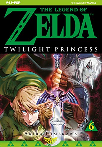 Twilight princess. The legend of Zelda: 6