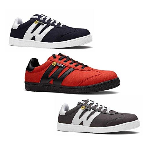 to Work For Ghost S3 SRC ESD Sneaker Sicherheitsschuh - Grau - Größe 41
