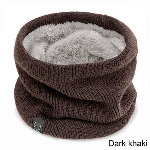 CTZNL winterwarme gebreide hals warme cirkel wrap cowl loop snood sjaal outdoor verdikte sjaal voor mannen vrouwen