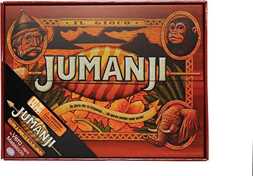 Spin Master Games Jumanji, Edizione in Legno, il Classico Gioco Vintage Anni '90, 6045571