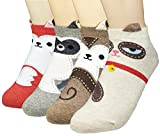 Product Image of the JJMax Women's Sweet Animal Socks Set with Thick Eared Cuffs One Size Fits All ,...