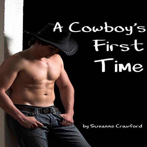 A Cowboy's First Time audiobook cover art