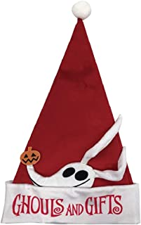 Nightmare Before Christmas Disney The Zero (Ghouls and Gifts Style) Santa Hat