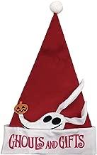 Ghouls and Gifts Style NightmarebeforeChristmasYCZ Weihnachtsmannm/ütze The Zero