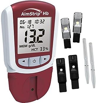 AimStrip 78200 Hemoglobin Starter Kit  Pack of 200