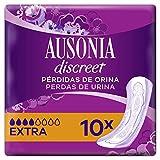 Ausonia Discreet Extra Compresas Para Pérdidas De Orina x 10