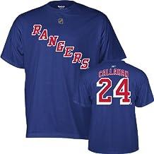 Reebok Ryan Callahan York Rangers Azul Marino Jersey Nombre y número Camiseta