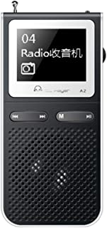 Mp3 Portable Player with Radio Fm Mp-3 Walkman Mp3 Player with Built-in Speakers Can Playing 100hours USB Speaker Speaker ...