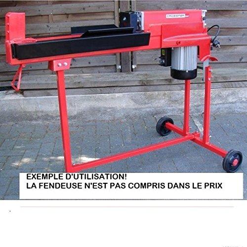 CROSSFER Untergestell für Holzspalter LS6T-52Ty und weitere Modelle, fahrbarer Rollständer für Holzspaltmaschine