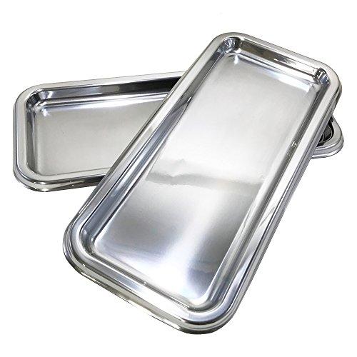 MOZAIK 2 plata plástico rectangular platos 35 x 16 cm