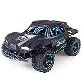 GRTVF 1/18 Camión de monstruo de alta velocidad de alta velocidad, control remoto 4WD coche 2.4GHz Vehículo de carreras eléctrico de radio controlado por radio Crawnler Buggy mejor regalo para niños y