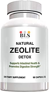 Natural Zeolite Detox Mineral Supplement – Immune System and Digestive System Support – 1000 mg Capsules-97% Pure– America...