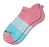 Bombas Women's Ankle Socks (Rose/Aqua, Medium)