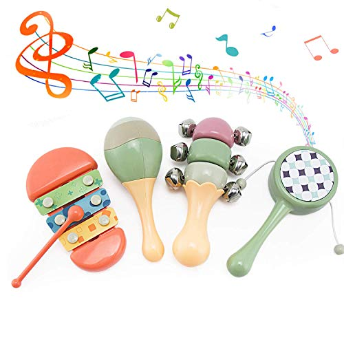 LITTLE SIENA Toddler Musical Instruments