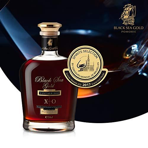 Black Sea Gold XO Brandy, Vintage 2002 0,7l 15 Jahre gelagert