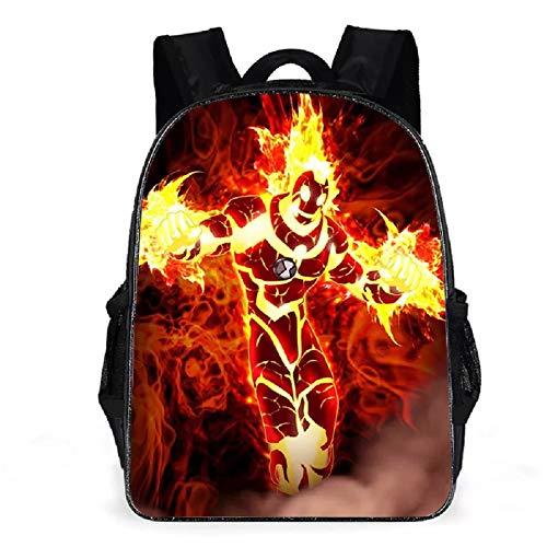 PaPama Unisex Boys Girls Students Ben 10 School Backpack Bookbag-Lightweight Travel Backpack Daypack for Kids (One Size, 10)