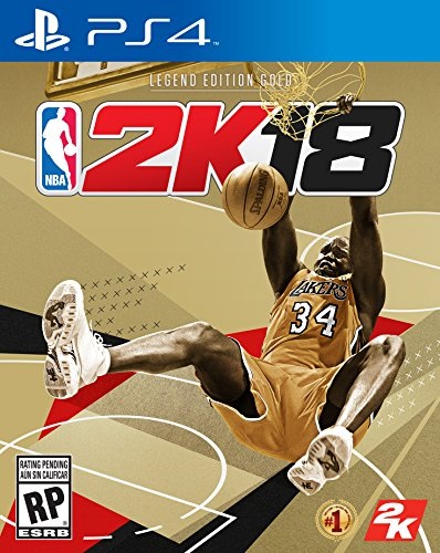 Nba 2K18 Legend Gold Edition - PlayStation 4