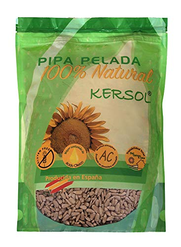 800g Pipa Pelada de Girasol Gourmet - Producida y Pelada en
