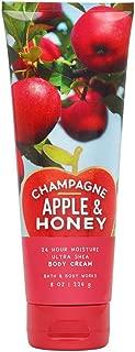 Bath & Body Works Champagne Apple & Honey Ultra Shea Body Cream, 8 Ounce