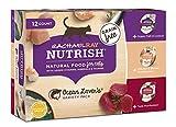 Rachael Ray Nutrish Natural Wet Cat Food, Variety Pack, Ocean Lovers, Grain Free, 2.8 oz tub, Pack of 12