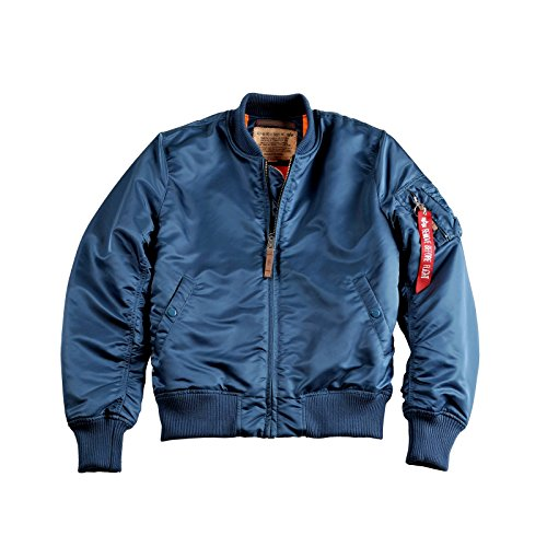 Alpha Industries MA-1 VF 59 Jacke XL bold blue