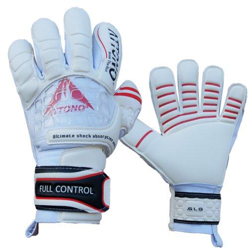 "ATTONO Profi Torwarthandschuhe ""Full Control"" Torwart Handschuhe - Größe 10"