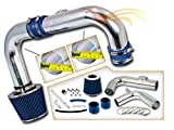 Rtunes Racing Cold Air Intake Kit + Filter Combo BLUE Compatible For 11-15 Chevrolet Cruze 1.4L Turbo I4