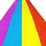 WENZHE Césped Artificial Estera Alfombra Hierba Artificial Moquetas Encriptar Pista De Arcoiris Campo Dedicación 4 Costuras De Color, Tamaño Personalizable (Color : 30mm, Tamaño : 2x0.5m)