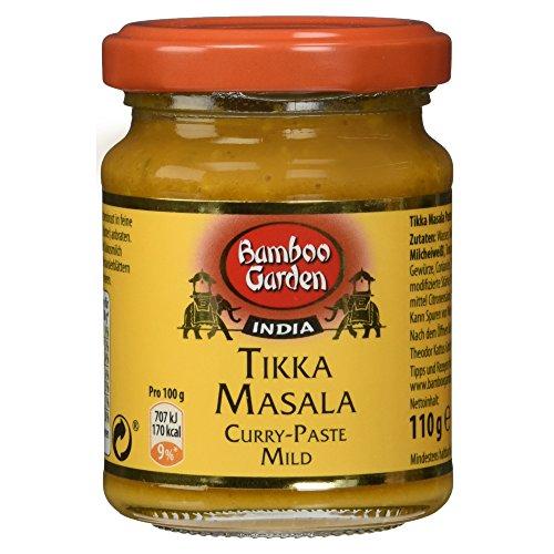 Bamboo Garden Tikka Masala - Currypaste mild (1 x 110 g)