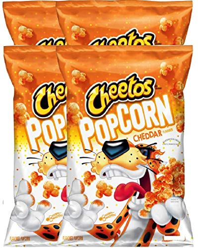Lowest Prices! NEW Cheetos Popcorn Flamin' Hot & Cheetos Popcorn Cheddar Classic But Limited Editi...