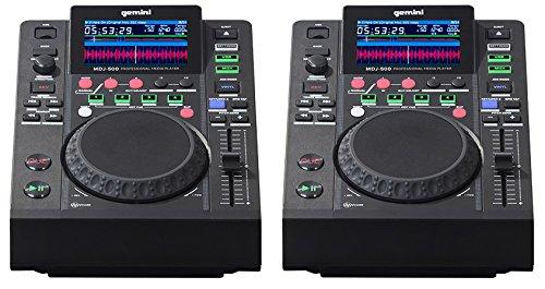 Gemini MDJ-500-2 controladores para DJ (USB, par)