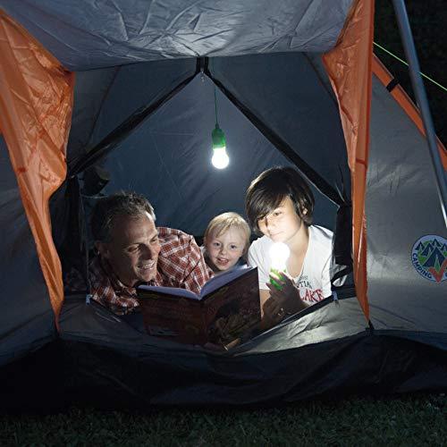 Handy Lux Colors kabellose LED Leuchte in 4 Gehäuse Farben | 8 Stück Lampen | Safe touch Oberfläche | Bruchfest | Garten, Camping, Party, Kleiderschrank | Das Original aus dem TV von Mediashop - 6