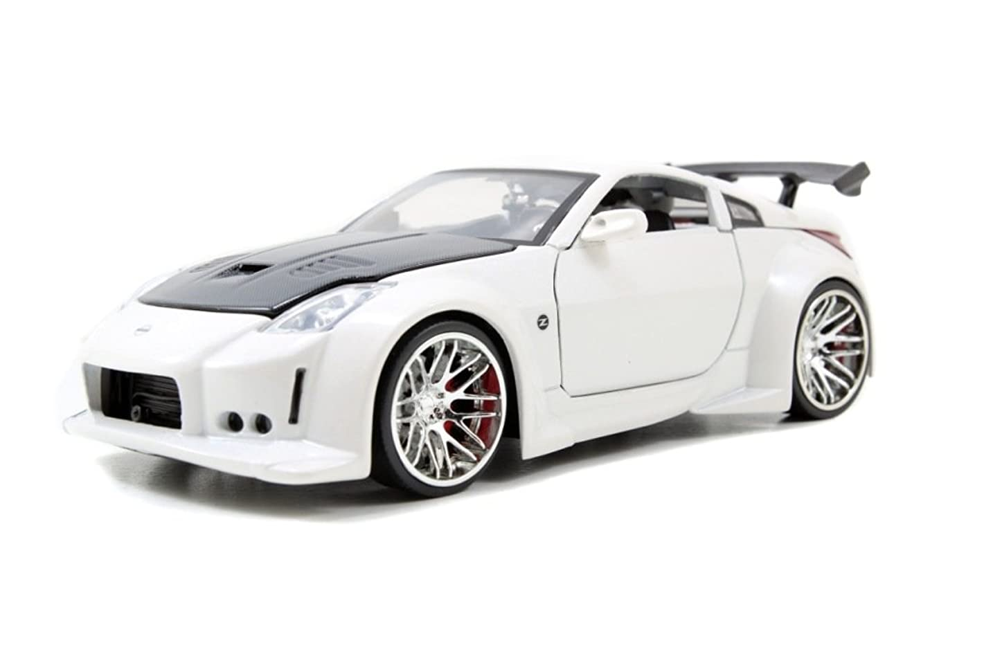 Jada 2003 Nissan 350Z (Z33) Bigtime Kustoms 1:24 Scale (White)