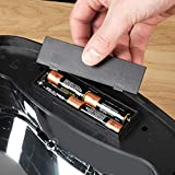 Morphy Richards Quadratischer Sensor-Mülleimer, Metall, schwarz, 42 L - 7